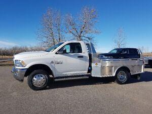 2018 Dodge 3500 4500 5500 Regular & Crew Cab's 4x4 Aluminum Deck