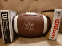 Riders signed football up for auction!