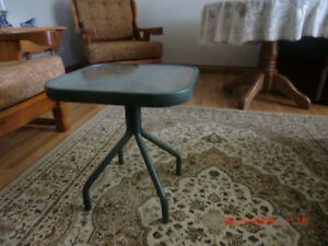 Table Glass Top  Small  Great Bedside , Accent or End Table