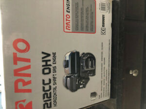 Rato gas engine new in box