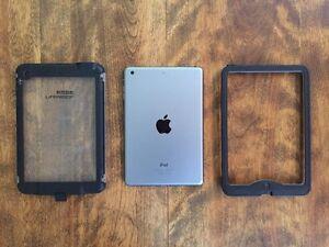 iPad Mini 16gb w/ Lifeproof Nuud Case