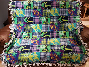 New Knot & Tie Fleece Blankets For Kids
