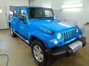 2011 Jeep Wrangler Sahara Unlimited SUV, Crossover