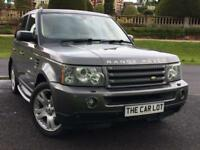 Land Rover Range Rover Sport 2.7 TDV6 HSE auto 2006 FSH REAR ENTERTAINMENT