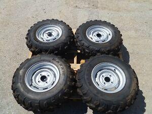 ATV Tires 25x10-12 DUNLOPS on Yamaha Rim