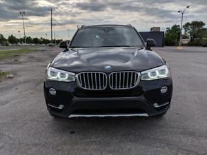 BMW X3 28i xDrive X-LINE 2016 fully loaded