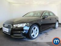 2017 Audi A4 1.4T FSI S Line 4dr [Leather-Alc] Saloon Petrol Manual