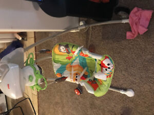 Baby swing, exer causer, jolly jumper, all for sale