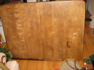 Antique Dining Room Table partially stripped
