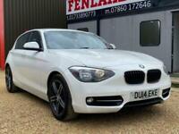 2014 14 BMW 1 SERIES 2.0 118D SPORT 5D 141 BHP DIESEL
