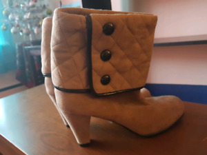 NEW genuine suede boots size 8.5