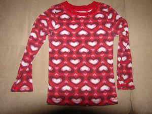 Size 4 long sleeves for a girl
