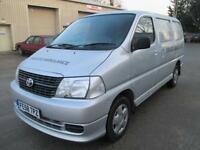 2008 Toyota Hi-Ace 2.5D-4D Tailgate 95 280 pas sld 1 owner diesel cd stereo