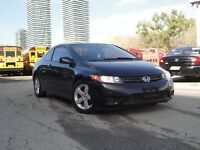 2008 Honda Civic LX Coupe with Sunroofl Only $5995