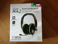 amplified stereo gaming headset turtle beach