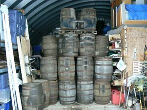 Solid Oak Whiskey Whisky Barrel Incl Delivery to the GTA $160.00