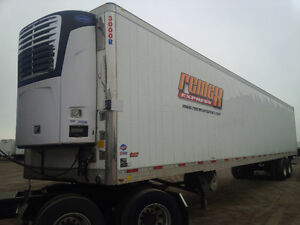 (5) 2012 UTILITY REEFERS FOR SALE