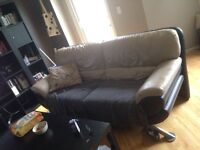 Leather couch $20