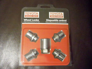 Toyota wheels lock