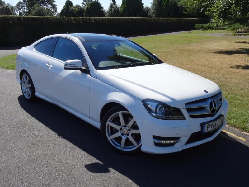 mercedes c class c220 cdi amg sport premium plus coupe 2014 14 in redbridge london gumtree. Black Bedroom Furniture Sets. Home Design Ideas
