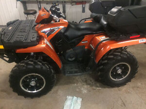2008 SPORTSMAN 800HO     ONLY 639KM