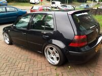 2003 VW Golf 1.6 with 1.8T Conversion, Air Ride, Modified, Show Car, May Swap/px