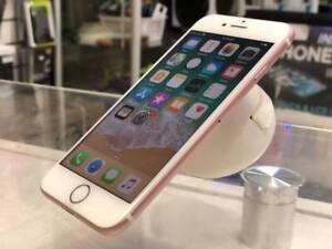 Original iPhone 7 256gb rose gold warranty unlocked tax inv