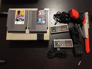 Nintendo system complete with games