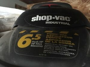 Shop-Vac Industrial 6.5 Hp Wet/Dry Vac