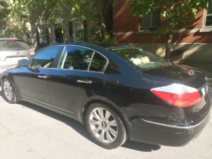 2009 Hyundai Genesis 3.8 TECH negotiable