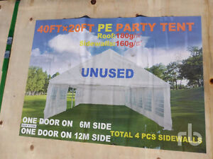 New 20' x 40' party tent