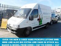 2006 56 PEUGEOT BOXER 2.0 290 LX SWB HDI H/R 1D 84 BHP (( NO VAT TO PAY )) DIESE