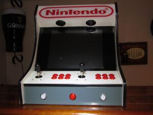 Nintendo Themed Bartop with Raspberry Pi / Retropie Gaming!