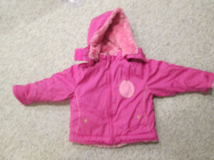 Adorable Girls Reversible Winter Coat ~2T