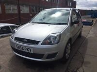 Bargain Ford Fiesta, full years MOT low miles, full service history