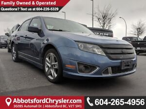 2010 Ford Fusion Sport *ACCIDENT FREE* *LOCALLY DRIVEN*