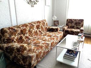 MidCentury Sofa Set
