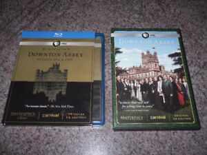 3 seasons of Downton Abbey on Blu-Ray and DVD for $5