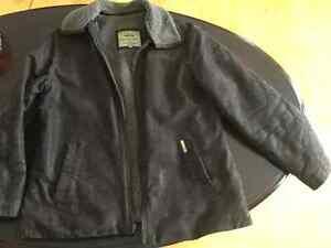 Manteau d'hiver en cuir pour femme