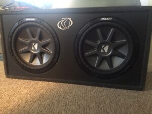 Subs, Amp and Capacitor