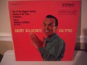 HARRY BELAFONTE CALYPSO RECORD