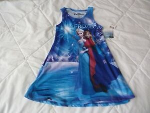 """Anna & Elsa  """"Frozen"""" summer shift dress"""