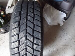 Four Brand New Steel Hankook Winter Tires on New Rims ( REDUCED St. John's Newfoundland image 3