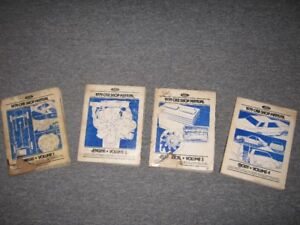 1979 Ford Shop Manuals.....Complete Set....NEW PRICE $100