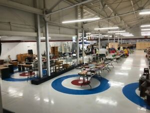 Massive 3-day Garage Sale Fundraiser AND Golf Show