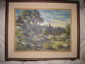 """Painting """"Indian Summer"""" for Sale"""