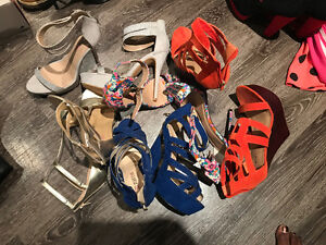 Justfab and shoe dazzle shoes for sale