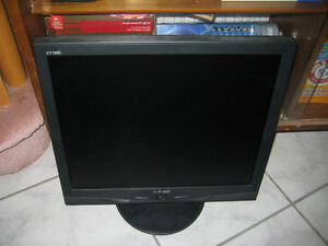 "FS: 19"" LCD monitor works perfectly"