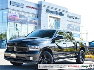 2017 Ram 1500 Sport, Night Edition With Only 16,000