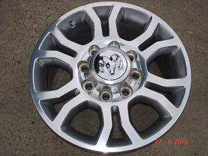 "2014 Dodge Ram 2500/3500 Alum. OEM 18""x 8 bolt rims / no tires"